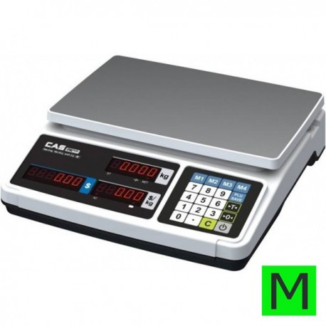 CAS PR PLUS 15kg - s výpočtem ceny